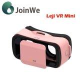 Vidros coloridos da realidade virtual 3D da caixa de Leji mini Vr
