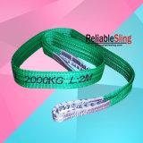 Flaches Augen-Augen-Polyester-Hochleistungsmaterial-Hebegurte