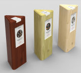 Boîte-cadeau en bois faite sur commande de vin avec la longue garantie