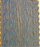 Ajuste rojo del cordón del ganchillo del telar jacquar para el bikiní /Lingeries