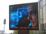 Visualizzazione di LED P10 per la pubblicità esterna