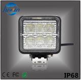 高品質LED車は3トラックUTV SUVのオフロードセリウムのRoHSによって証明されるAutomativeの予備品のためのインチ18Wの点の洪水LED作業ライトをつける