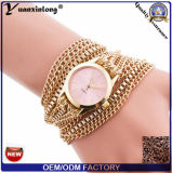 Yxl-773 Vogue Women Rectangle Bracelet Watch Long Chains Ladies Relógio de quartzo
