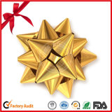 Handgemachter dekorativer Stern-Bogen für Weihnachten