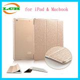 iPad及びMacBookのための半透明な曇らされた裏表紙が付いている超細い軽量のスマートシェルの立場のタブレットの箱