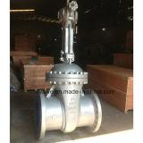 Válvula de porta da extremidade da flange da engrenagem de sem-fim do aço de molde do ANSI 300lb