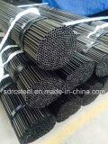 Tubo de acero destemplado negro para la industria de la maquinaria