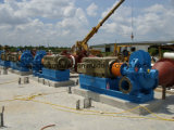 Pompe à eau électrique d'aspiration centrifuge de fin