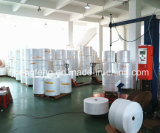 Material no tejido de la tela de SMS para la fábrica adulta de China del pañal del pañal del bebé