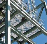 Grata d'acciaio galvanizzata del TUFFO caldo per il pavimento della piattaforma della struttura d'acciaio