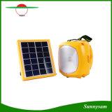Indicatore luminoso esterno di campeggio solare portatile di emergenza LED della lanterna della lampada solare multifunzionale con il carico del telefono mobile