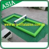 Objetivo inflável do polo da alta qualidade, jogos infláveis comerciais ao ar livre do parque da água