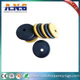 의류 관리를 위한 방수 125kHz RFID 세탁물 꼬리표 PPS Em4305