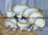 Tazas del oro y máquina de la vacuometalización del vajilla