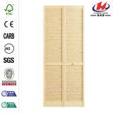 Дверь Closte жалюзиего твердая деревянная Bi-Fold