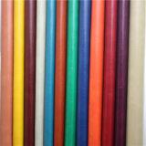 Cuero sintetizado de imitación del PVC para el fabricante de Dongguan del sofá (838#)