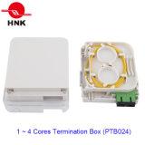 1 ~ 4 Cores 1 Porta Fibra Óptica Cabo Terminação Box (PTB024)