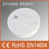 UL Batterie-actionnée par 9V domestique Optical Smoke Alarm (PW-507S)
