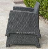 アルミニウムフレームの&PE藤によって編まれるコーヒー椅子(YT236)が付いているスタック可能屋外の庭のコーヒー椅子
