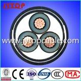 10kv Gepantserde Kabel 3X150mm van de Band van het Staal van de Kabel van het aluminium