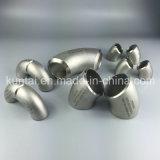 Sch40 long rayon 90d en acier inoxydable coude avec SGS (KT0354)