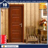 Porte en bois solide de pièce de salle de bains de PVC de contre-plaqué de toilette en bois de mélamine