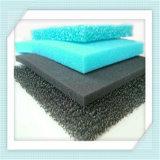 Mousse réticulée bleue respectueuse de l'environnement de filtre d'éponge d'unité centrale