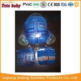 Propres conçoivent l'usine remplaçable de la Chine de couche-culotte de bébé de roulis de la roche N de marque d'OEM