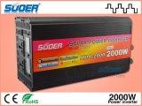 Inversor solar del inversor 2000W del sistema eléctrico de Suoer con el cargador (HAD-2000D)