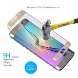 Seda-Impressão Electroplated colorida vidro curvado para a galáxia S7edge de Samsung