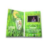 LCD 영상 기업 이름 카드 브로셔 카드
