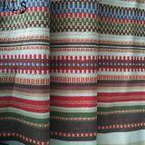 衣服のワイシャツまたは服Rls21-6jaのための綿のジャカードによって編まれるヤーンによって染められるファブリック