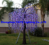 Yaye Best Sell 2 Years Warranty Waterproof IP65 LED Tree Light/LED Simulation Cherry Tree con Ce & RoHS