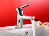 Badezimmer Single Handle Basin Faucet mit Brass