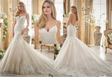 2016カスタマイズされる新しい熱販売の花嫁のウェディングドレス