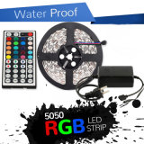 5m 3528 5050 indicatore luminoso di striscia flessibile di RGB 300 SMD LED 12V