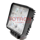 Car Truck Vehicle Driving Boat 9-32V Square (T1024S)를 위한 4 인치 24W LED Work Light