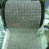 24 обруча сетки Rhinestone диаманта рядков кристаллический
