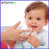 Brosse à dents infantile de doigt de bébé de silicone mou de Teether