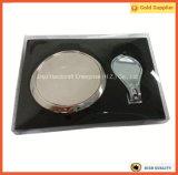 Карманные установленные подарки промотирования ключевой цепи зеркала и клипера ногтя (JINJU16-069)