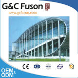 Parete divisoria di alluminio di vetro di prezzi del materiale da costruzione di Guangzhou