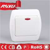 New Wire-Drawing Panel Design Électrique Big Button Wall Switch