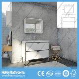 Vanidad compacta vendedora caliente del cuarto de baño de madera sólida del estilo americano (BV220W)