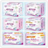 La serviette hygiénique la meilleur marché de Sofe avec l'ion négatif