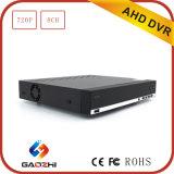 Venda quente Hisilicon 3521 P2p 8CH DVR com entrada de HDMI
