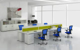 2016 Linear moderno Workstation Table con Glass Screen Divider (HF-ELG010)