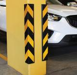 Protecteurs faisants le coin en caoutchouc réutilisés par sûreté de parkings