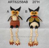 """7 """" Hx5 """" L que colocan Víspera de Todos los Santos Owl-2asst. - Decoración de Víspera de Todos los Santos"""