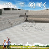 Aluminiumdecken-Fliese, PVC-Gips-verschobene Decke