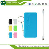 Cadeaux promotionnels bon marché 5200mAh Mini Slim Portable Power Bank